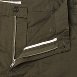 Мужские брюки Universal Works Fatigue Twill Military Olive фото- 1