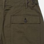 Мужские брюки Universal Works Fatigue Twill Military Olive фото- 3