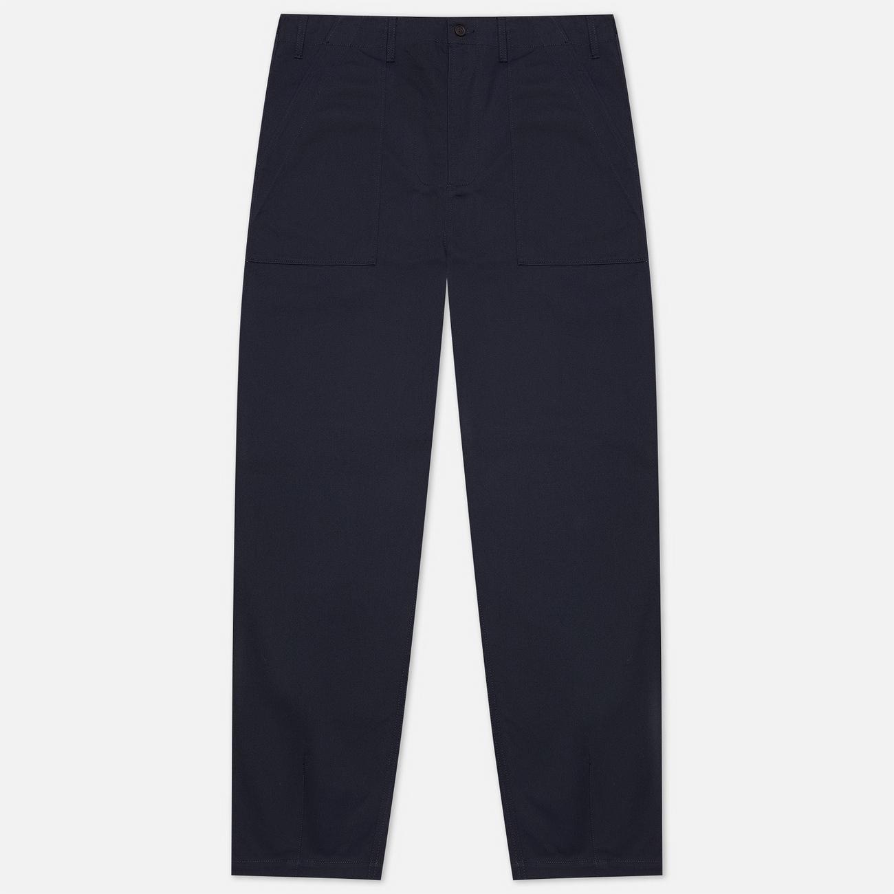 Мужские брюки Universal Works Fatigue Twill Navy