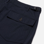 Мужские брюки Universal Works Fatigue Twill Navy фото- 1