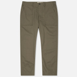 Мужские брюки Universal Works Fatigue Twill Olive фото- 0