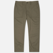 Мужские брюки Universal Works Fatigue Twill Olive фото- 0