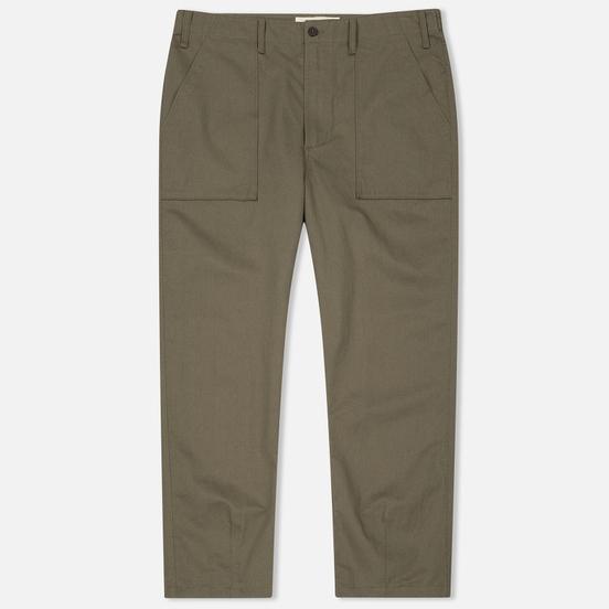 Мужские брюки Universal Works Fatigue Twill Olive