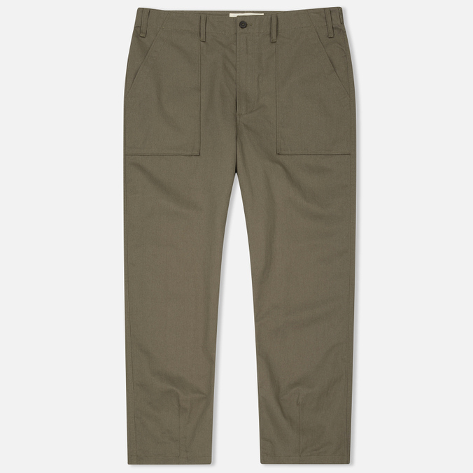 Мужские брюки Universal Works Fatigue Twill Olive