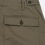 Мужские брюки Universal Works Fatigue Twill Olive фото- 4