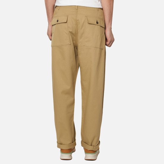 Мужские брюки Universal Works Fatigue Twill Sand