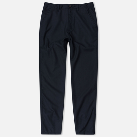 Universal Works Loose Gaberdine Men's trousers Navy