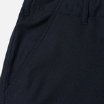 Мужские брюки Universal Works Loose Gaberdine Navy фото- 2