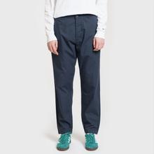 Мужские брюки Universal Works Military Chino Poplin Navy фото- 1