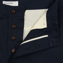 Мужские брюки Universal Works Military Chino Twill Navy фото- 1