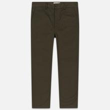 Мужские брюки Universal Works Military Chino Twill Olive фото- 0