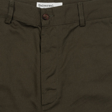Мужские брюки Universal Works Military Chino Twill Olive фото- 2