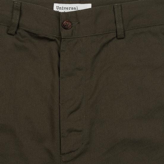 Мужские брюки Universal Works Military Chino Twill Olive