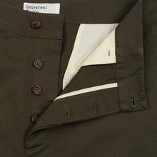 Мужские брюки Universal Works Military Chino Twill Olive фото- 1
