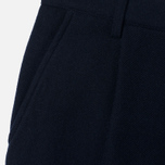 Мужские брюки Universal Works Pleat Wool Twill Navy фото- 2