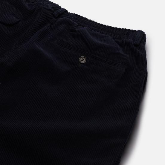 Мужские брюки Universal Works Pleated Track Cord Navy