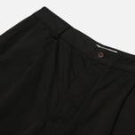 Мужские брюки Universal Works Pleated Twill Black фото- 7