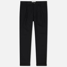 Мужские брюки Universal Works Pleated Twill Black фото- 0