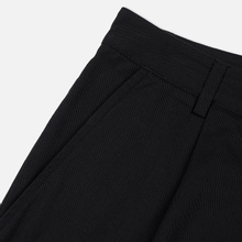 Мужские брюки Universal Works Pleated Twill Black фото- 3