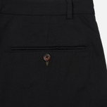 Мужские брюки Universal Works Pleated Twill Black фото- 4