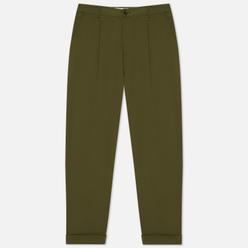 Мужские брюки Universal Works Pleated Twill Light Olive