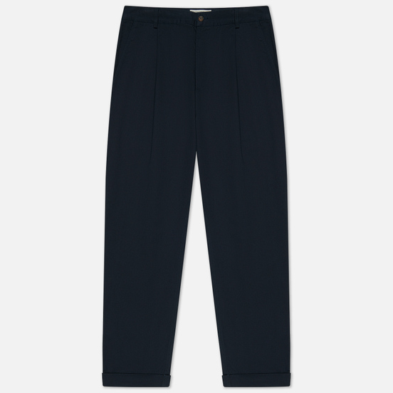 Мужские брюки Universal Works Pleated Twill Navy