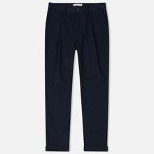Мужские брюки Universal Works Pleated Twill Navy фото- 0