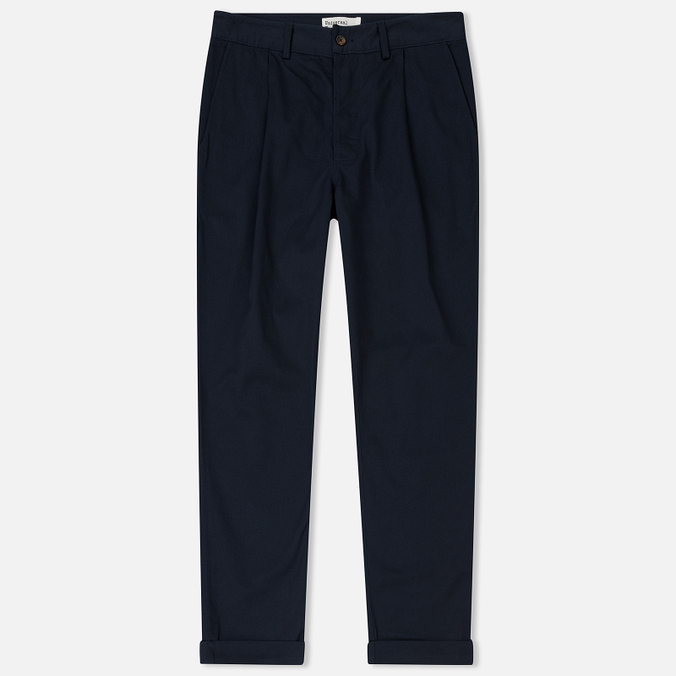 Мужские брюки Universal Works Pleated Twill Navy
