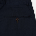 Мужские брюки Universal Works Pleated Twill Navy фото- 4
