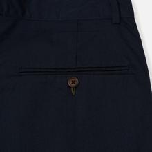 Мужские брюки Universal Works Pleated Twill Navy фото- 4