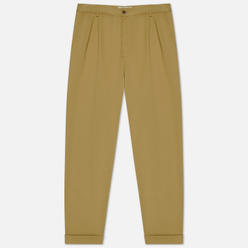 Мужские брюки Universal Works Pleated Twill Sand