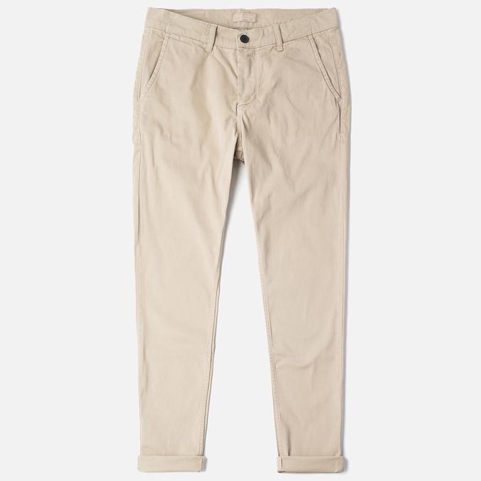 Velour Adan Chino Men`s Trousers Beige