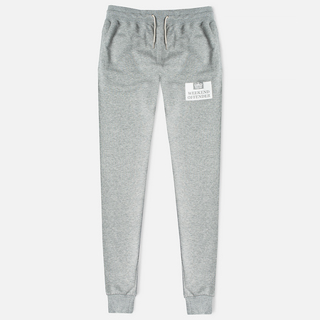 Weekend Offender Jogg Men's Trousers Grey Marl