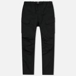 Мужские брюки White Mountaineering Tusser Shearing Cargo Black фото- 0