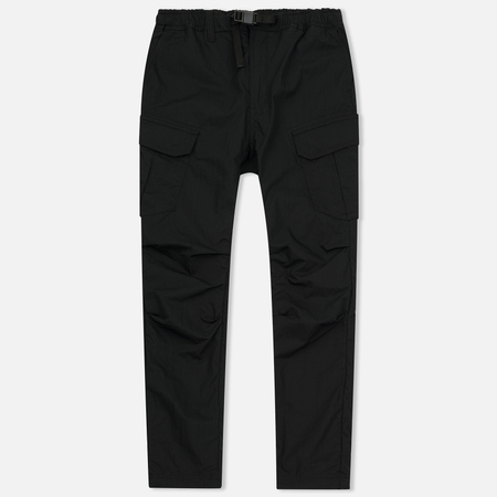 Мужские брюки White Mountaineering Tusser Shearing Cargo Black