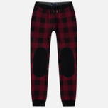 Мужские брюки Woolrich Buffalo Check Red фото- 0