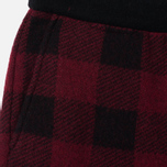 Мужские брюки Woolrich Buffalo Check Red фото- 1