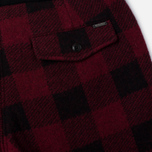 Мужские брюки Woolrich Buffalo Check Red фото- 3