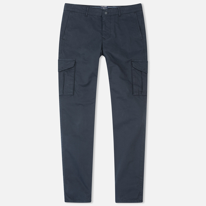 Мужские брюки Woolrich Stretch Twill GD Cargo Dark Navy