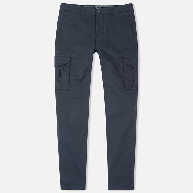 Woolrich Stretch Twill GD Cargo Men`s Trousers Dark Navy