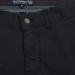 Мужские брюки Woolrich Stretch Twill Slim Chino Dark Navy фото- 2