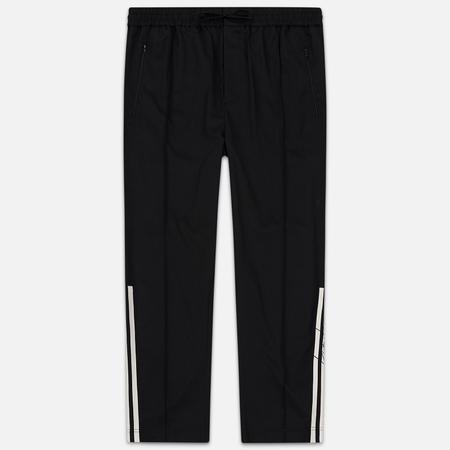 Мужские брюки Y-3 3 Stripes Wool Satin Wide Black/Ecru/Black