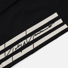Мужские брюки Y-3 3 Stripes Wool Satin Wide Black/Ecru/Black фото- 4