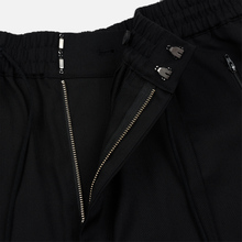 Мужские брюки Y-3 3 Stripes Wool Satin Wide Black/Ecru/Black фото- 5