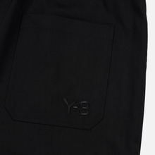 Мужские брюки Y-3 3 Stripes Wool Satin Wide Black/Ecru/Black фото- 6