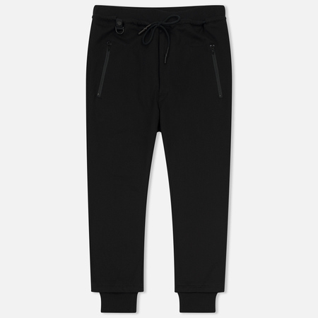 Мужские брюки Y-3 Branded French Terry Black