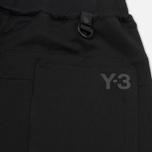 Мужские брюки Y-3 Branded French Terry Black фото- 5