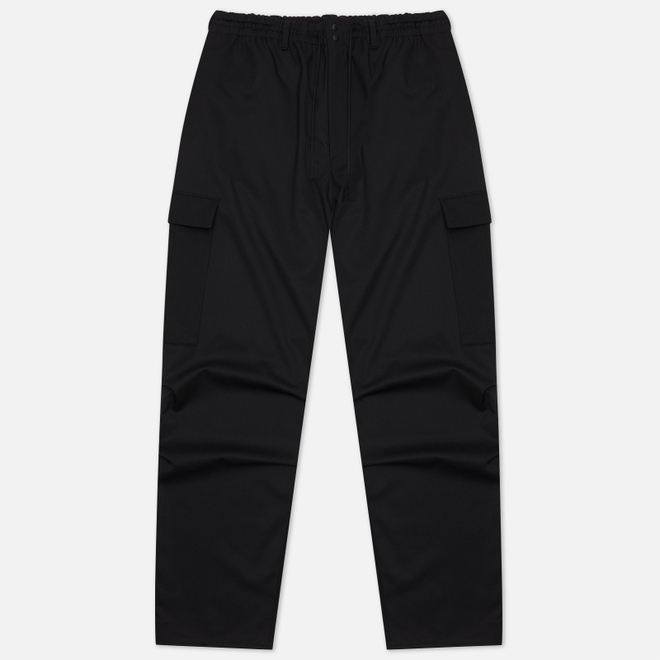 Мужские брюки Y-3 Classic Refined Wool Stretch Cargo Black