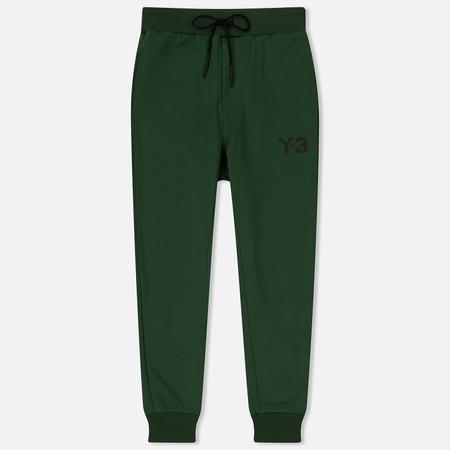 Мужские брюки Y-3 Track Printed Logo Front Field Green