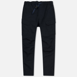 Мужские брюки White Mountaineering Tusser Shearing Cargo Navy фото- 0